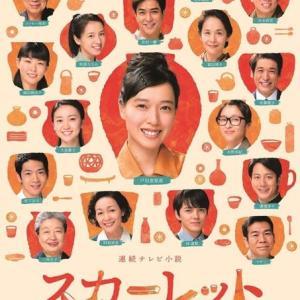 NHK「スカーレット」急降下