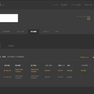 1日〜は+¥12,000ー今日は−¥4,500ーバイナリーオプション(BO)生活1673