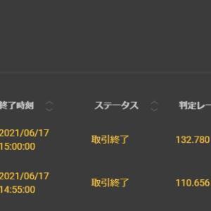 今日は+¥85,000ーバイナリーオプション(BO)生活1770