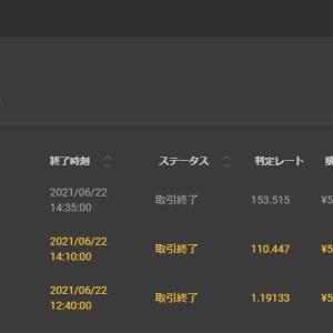 今日は+¥35,000ーバイナリーオプション(BO)生活1773