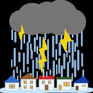 大雨にご注意!!
