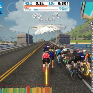 ロードバイクってギア変えられるんだぜ⁉ 3R Watopia Flat Route Reverse Raceで変速の喜びを知る