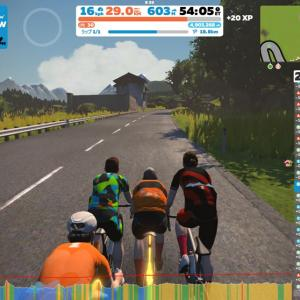 ZAPPEIのオジサン達が頑張るならコッチも負けていられない! 3R Achterbahn Climbing Raceを走ってみた!