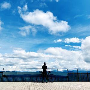 パンクしてでも見たい絶景(゚∀゚)! ロードバイクでも行ける御荷鉾スーパー林道展望台の眺めが凄かった