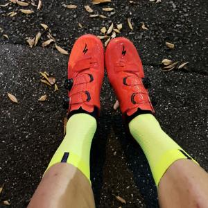 S-Works 7 Shoes、めっちゃ良くない(゚∀゚)!? 唯一の弱点・課題は赤いシューズのコーディネート!?
