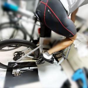 骨折してもロードバイクに乗れる喜び(∩´∀`)∩ GT-Roller F3.2楽しすぎワロタwww