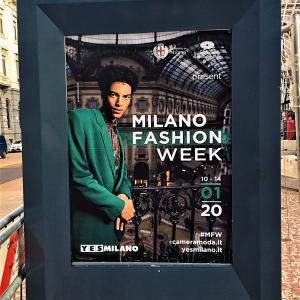 ミラノ☆ファッションウィーク2020〜メンズ編♪