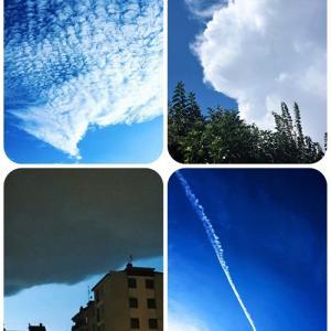 〇〇に見える雲♪〜イタリアの空から☆