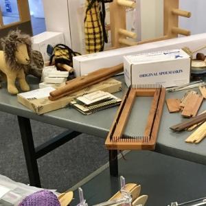 編み糸と織り糸とゴム通し購入
