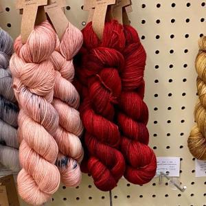 クラフトストアのウール毛糸