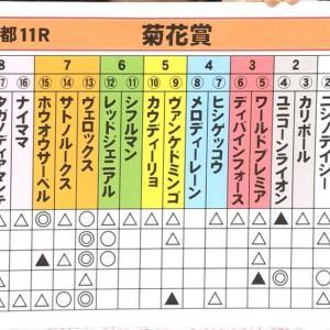 【競馬】菊花賞の競馬予想TV見てて亀谷の血統予想が