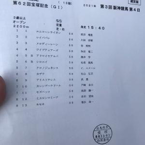 【競馬・宝塚記念】枠順確定!クロノジェネシスは5枠7番、レイパパレは2枠2番