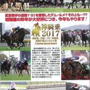 【競馬】ギャロップが2017神騎乗2~5位を発表。
