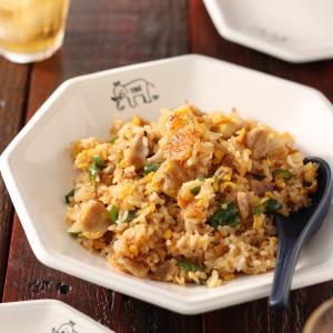 豚バラピーマンのパラパラ炒飯【#作り置き #冷凍保存 #お弁当 #調味料3つで本格派 #主食】と「即席スープ」と「余った食材であと一品」