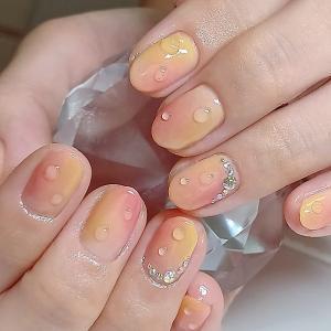 桃ネイル~