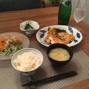 昨夜の夕飯です