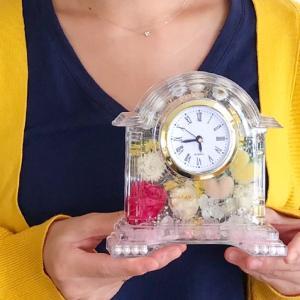 ハーバリウム時計