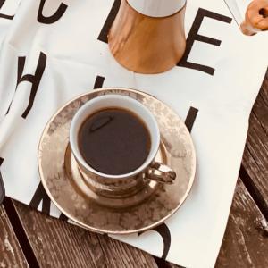 ナチュラルなHARIO v60でハンドドリップコーヒー♫外で飲む珈琲は格別!