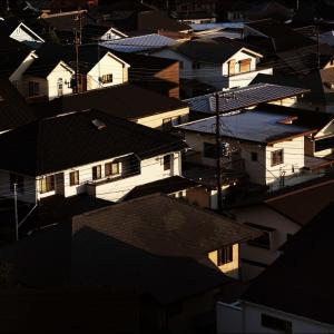 *夕陽の町
