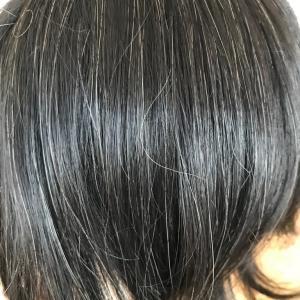 スリールは、白髪入り部分ウイッグも本当に自然なんです!