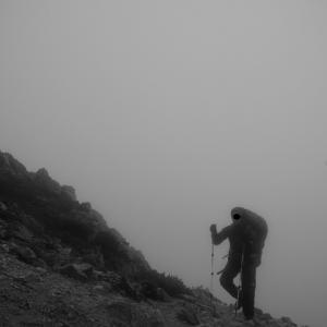 霧の裏銀座『裏銀座&表銀座4泊5日テント泊縦走』