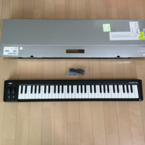 lune、MIDIキーボードを買う(・ω・´)