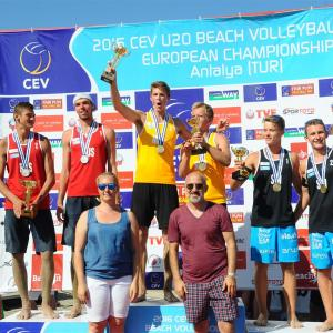 Anders&Aleksander U20 ヨーロッパ選手権 金メダル