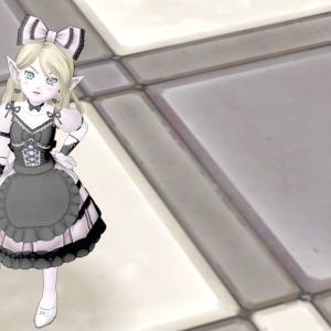 今日のコーデNo.207☆ロリータドレス上×おとぎの森スカート【ドラクエ10】