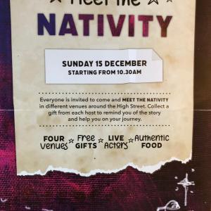 Nativity(キリスト降誕)でうれしい出会い