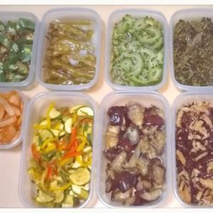 野菜だらけの常備菜(*´艸`*)♡