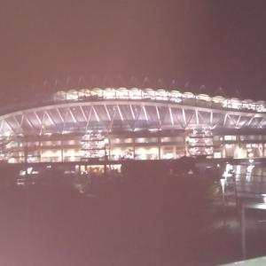鹿島スタジアムでリフレッシュ(天皇杯)ヾ(´︶`*)ノ♬