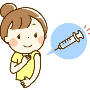 コロナワクチン1回目接種しました(∗ˊᵕ`∗)