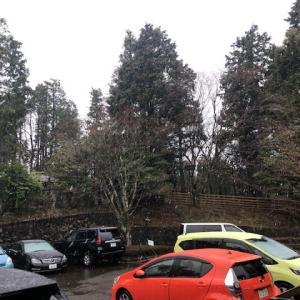 元箱根、雪に変わりました。