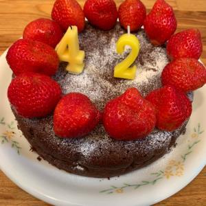 バタバタだった42歳の誕生日。。。