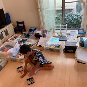 学校始まる前の次男の整理収納