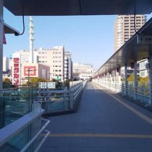今朝の高崎駅界隈