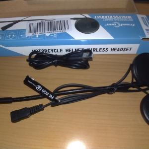 ヘルメット用 ヘッドセット取り付け