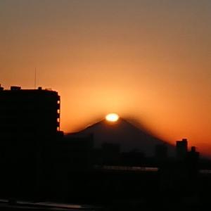 ダイヤモンド富士山