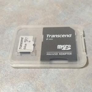 【レビュー】コスパ重視のmicroSDカード「Transcend USD300S」