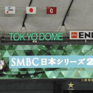 【球場】ワイ、東京ドームで日本シリーズ決着を観る【画像】