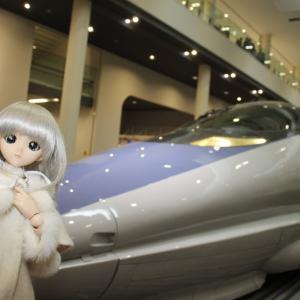 娘(人形)と京都鉄道博物館に行ってきたで!