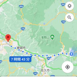 徒歩で旅する品川~魚津 part 5