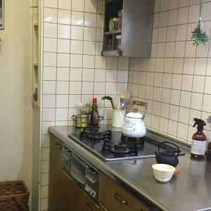 キッチンで白湯じかん