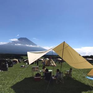 家族キャンプを始めて10年