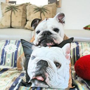 愛犬と作品~♪