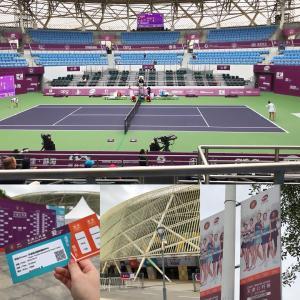 天津◆天津オープン(テニス観戦)にGOooo〜♫
