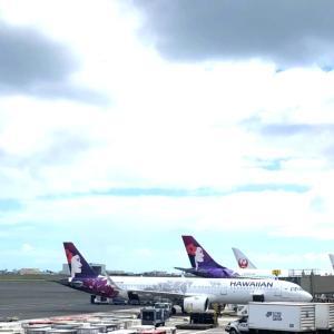 【ハワイ】ハワイアン航空の機内食など♡