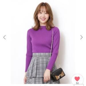 【シクセ購入品②】シンプルニット♡