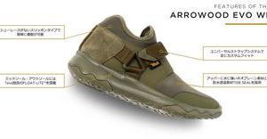 Teva Arrowood EVO WP(テバ アローウッド エボ WP)はイマっぽく、全天候対応の超優良シューズ!
