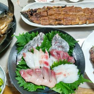 爺の釣り料理‼️